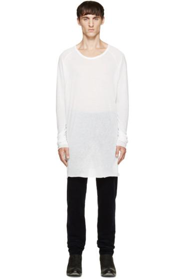 Haider Ackermann - Off-White Long-Sleeve T-Shirt