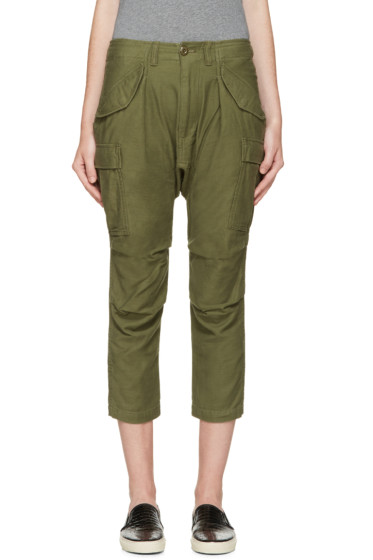 NLST - Green Cargo Harem Pants