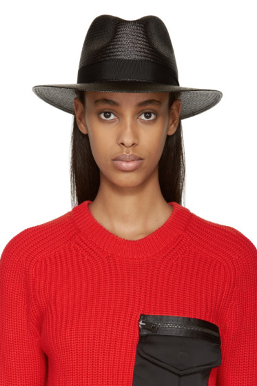 Rag & Bone - Black Panama Hat