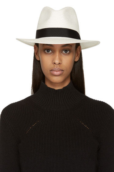 Rag & Bone - White Panama Hat