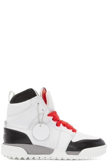 Rag & Bone - White Korban High-Top Sneakers