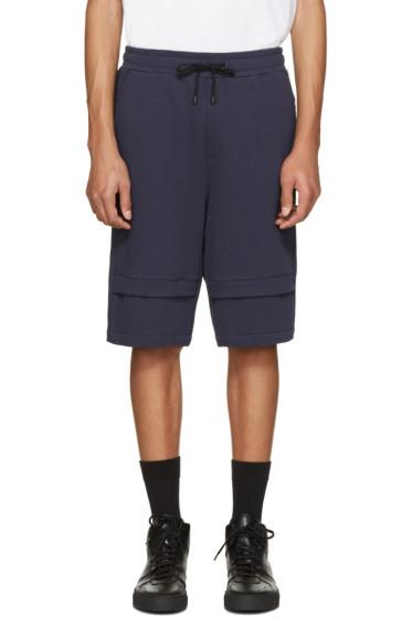 Public School - Navy Zagut Lounge Shorts