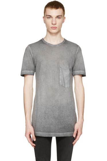 Diesel Black Gold - Grey Faded T-Shirt