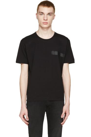 Diesel Black Gold - Black Logo T-Shirt