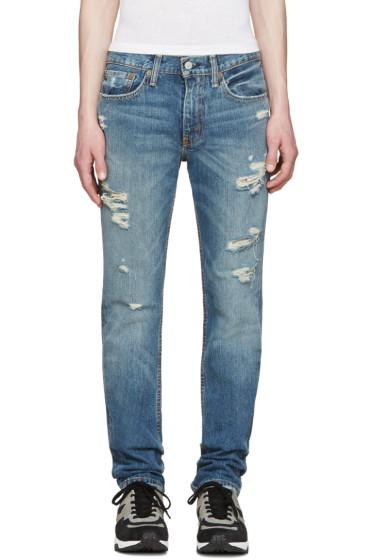 Levi's - Blue Slim 511 Jeans