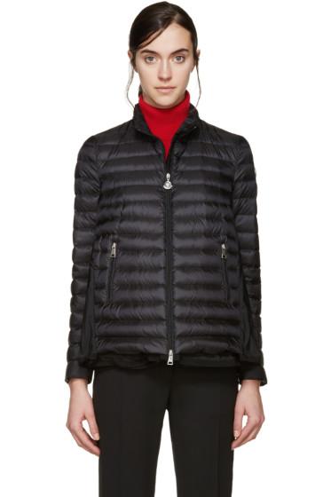 Moncler - Black Down Grenouille Jacket