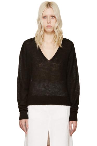 Acne Studios - Black Alpaca Rhea Sweater