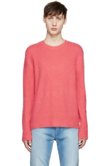 Acne Studios - Pink Cashmere Peele Sweater