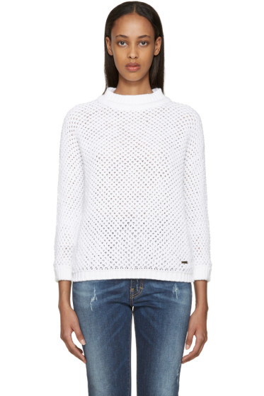 Dsquared2 - White Knit Sweater