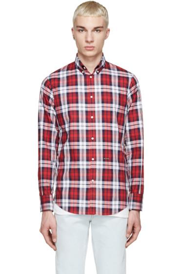 Dsquared2 - Tricolor Plaid Shirt