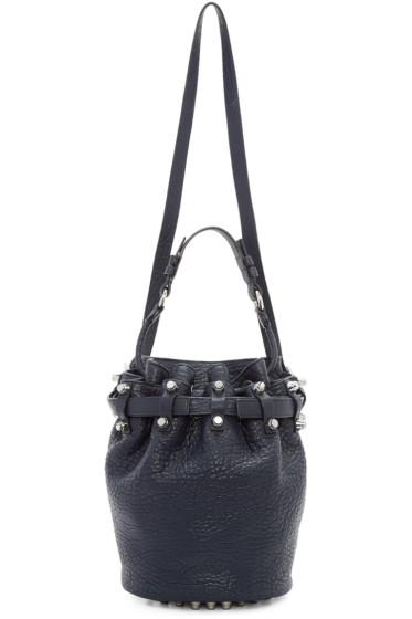 Alexander Wang - Navy Small Diego Bucket Bag
