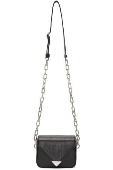 Alexander Wang - Black Mini Prisma Envelope Sling Bag