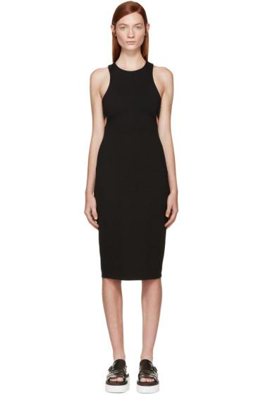 T by Alexander Wang - Black Ponte Cut-Out Dress