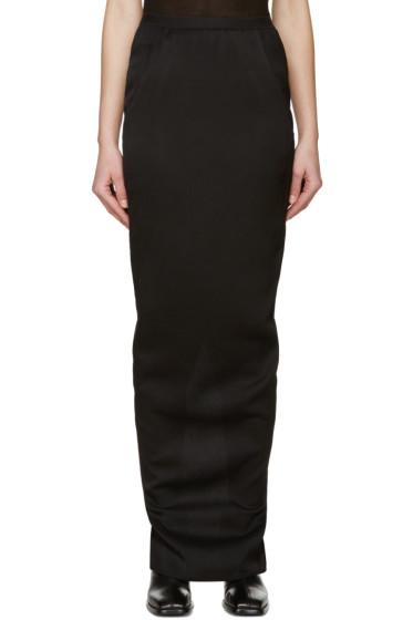 Rick Owens - Black Column Skirt