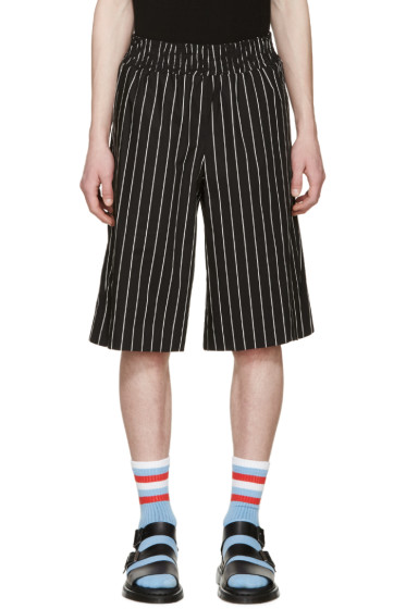 Opening Ceremony - Black Pinstriped Boxing Shorts