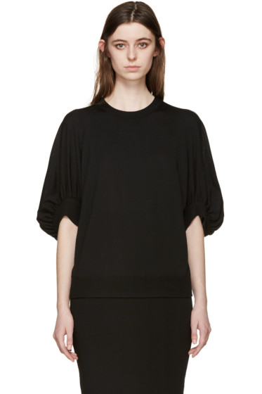 Givenchy - Black Oversized Sleeves Sweater