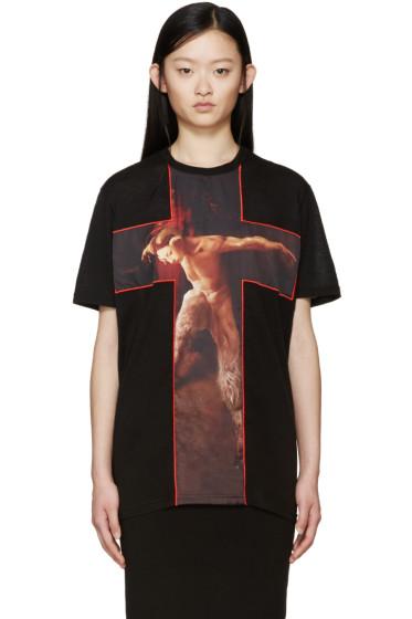 Givenchy - Black Fauno T-Shirt