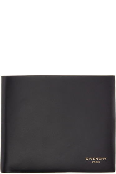 Givenchy - Black Leather Carpet Wallet