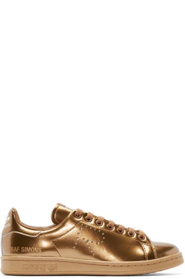 Raf Simons - Copper Metallic Stan Smith adidas by RAF SIMONS Sneakers