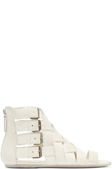 Marsèll - White Braided Gladiator Arsella Sandals