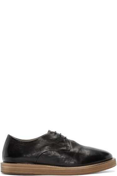 Marsèll - Black Leather Derbys