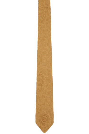 Burberry Prorsum - Brown Lace Tie