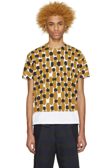 Marni - Tricolor Patterned T-Shirt