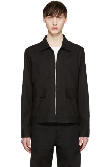 Paul Smith Jeans - Black Linen Jacket