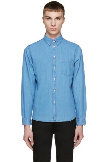 Paul Smith Jeans - Blue Tailored Denim Shirt