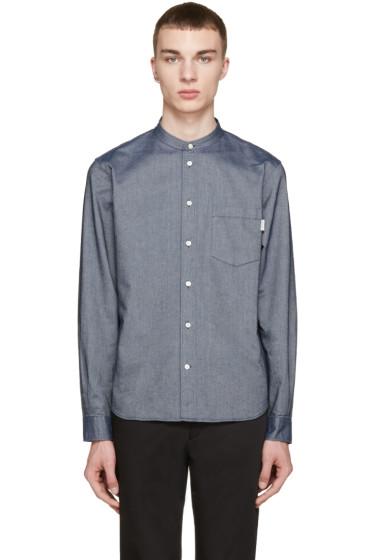 Paul Smith Jeans - Navy Tailored Denim Shirt