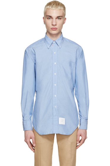 Thom Browne - Blue Poplin Shirt