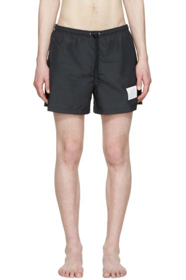 Thom Browne - Navy Swim Shorts