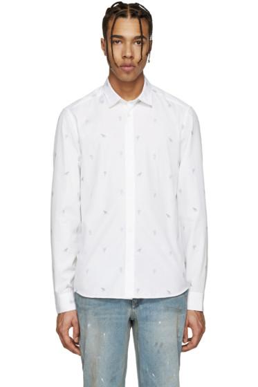 Kenzo - White Printed Shirt