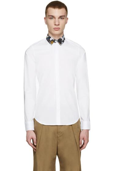 Kenzo - White Contrast Collar Shirt