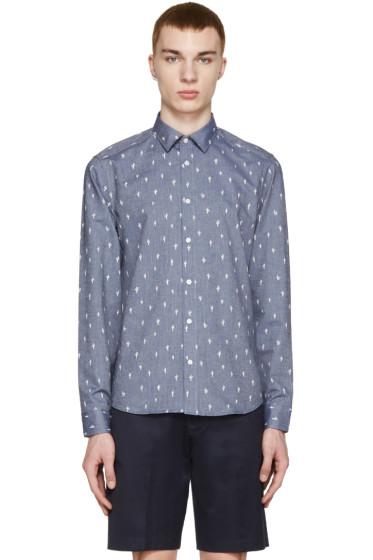 Kenzo - Blue Chambray Cactus Shirt
