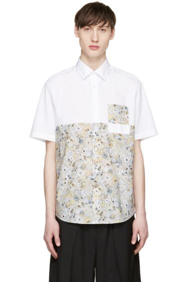 Kenzo - White & Yellow Moonmap Shirt