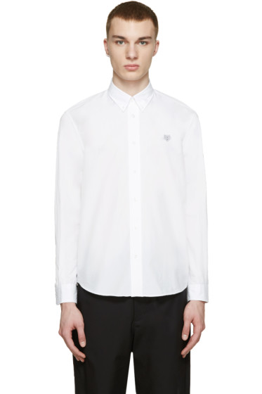 Kenzo - White Embroidered Tiger Shirt