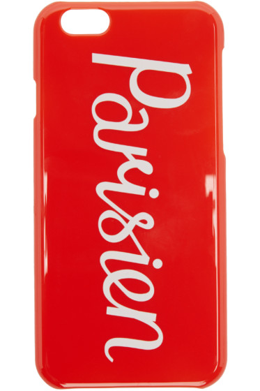 Maison Kitsuné - Red Parisien iPhone 6 Case