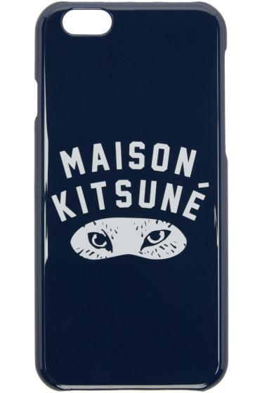 Maison Kitsuné - Navy Fox Eyes iPhone 6 Case