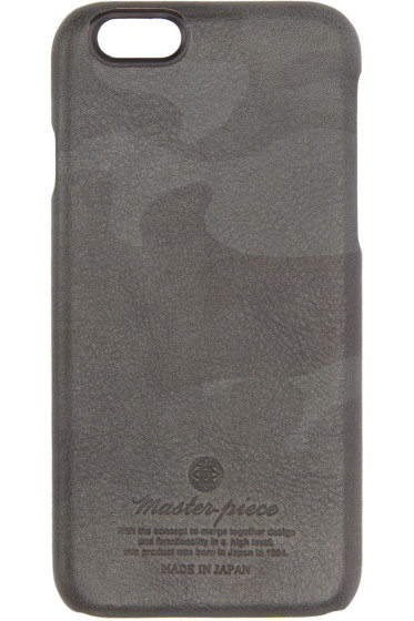 Master-Piece Co - Black Camo Leather iPhone 6 Case