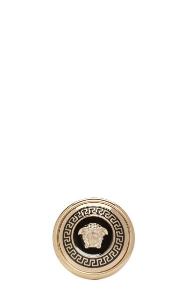 Versace - Gold Medusa Medallion Ring