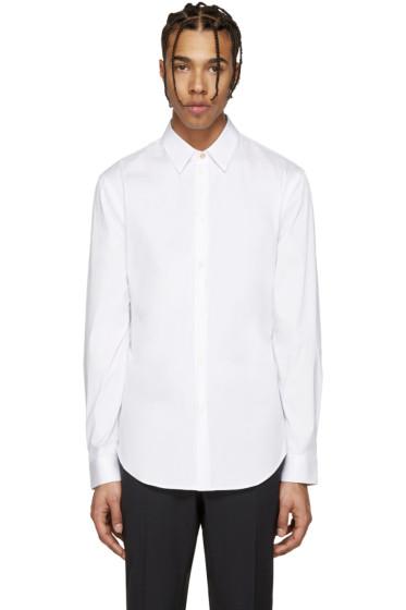 Versace - White Poplin Shirt
