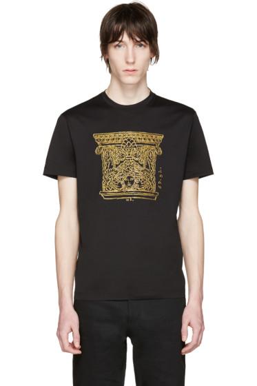 Versace - Black Medusa & Columns T-Shirt