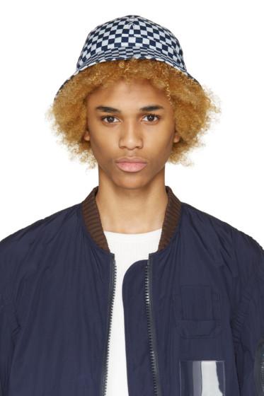 Sasquatchfabrix - Blue Check Bucket Hat