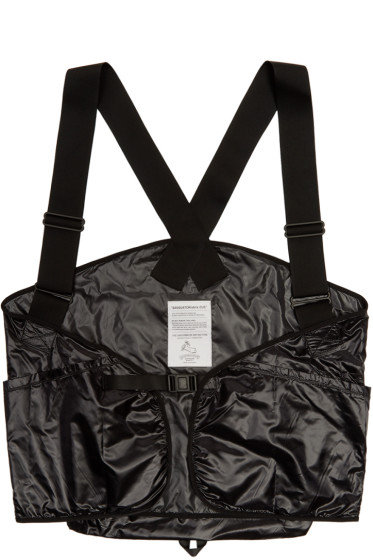 Sasquatchfabrix - Black Backpack Vest