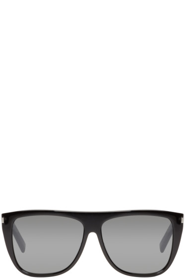 Saint Laurent - Black SL 1 Sunglasses