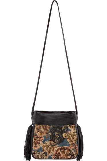 Saint Laurent - Multicolor Tapisserie Small Helena Bag