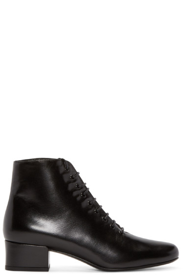 Saint Laurent - Black Babies Ankle Boots