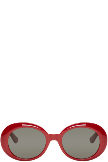 Saint Laurent - Red SL 98 California Sunglasses