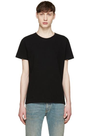 Saint Laurent - Black Destroyed T-Shirt